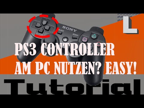 PS3 Controller mit Pc verbinden   Ohne MotioninJoy [Tutorial / Deutsch / English in Description]