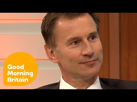 Jeremy Hunt On The Cabinet Reshuffle And David Cameron's Resignation   Good Morning Britain