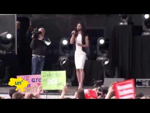 Bearded Lady Sends Message to Putin: Eurovision winner Conchita Wurst talks tough on tolerance