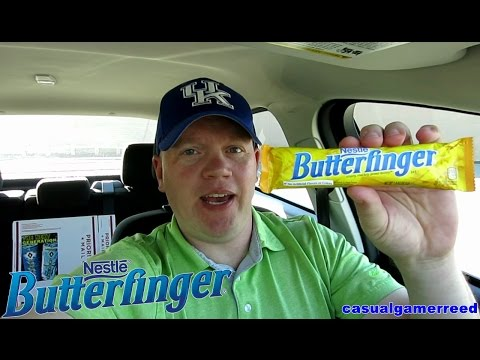 Reed Reviews Butterfinger Candy Bar