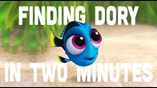 Finding Dory in two minutes