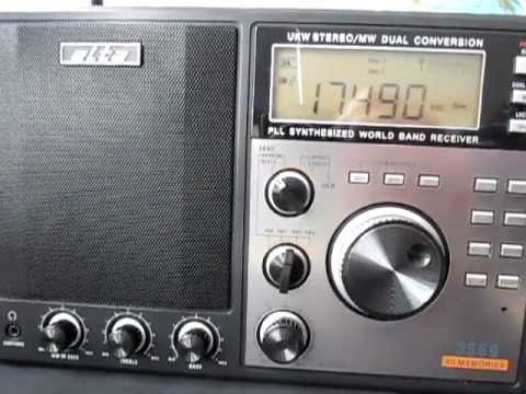 Seven shortwave radios - a comparison in sound