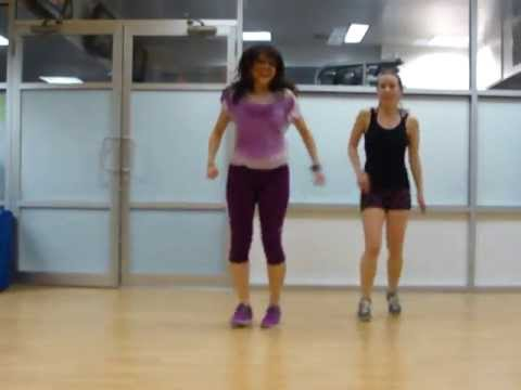 Roxy Fitness - LIVE IT UP by Jennifer Lopez featuring Pitbull ZUMBA