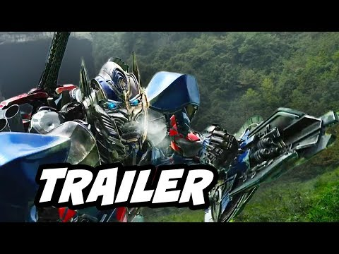 Transformers 4 Age of Extinction Trailer 2 Review