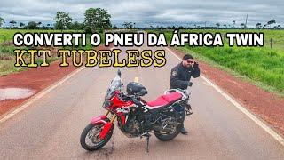 TESTE KIT PNEU SEM CÂMARA NA AFRICA TWIN | TUBELESS APÓS 3.000KM