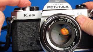 Pentax K1000 SE Testing