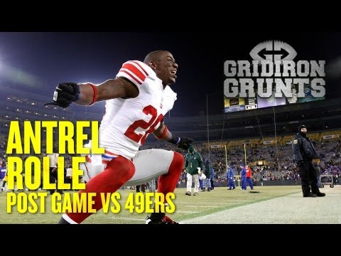 Antrel Rolle Checks in With His Fans After Giants' Big Week 6 Win