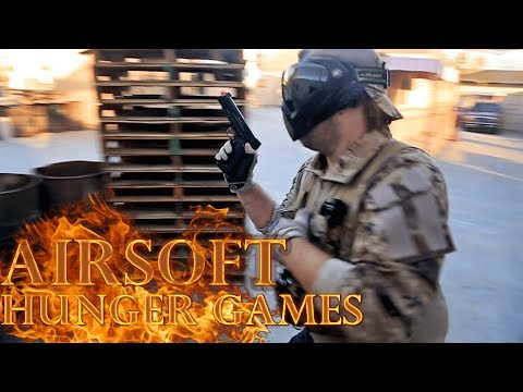 HUNGER GAMES! Airsoft Edition! - Airsoft GI at Hollywood Sports - Airsoft GI
