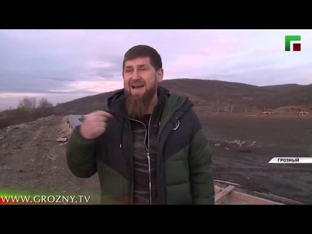 Инспекция Рамзана Кадырова в Пригородное