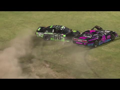 RaceCar Retaliation after Crash at Bowman Gray Stadium