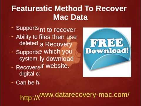 Mac Data Recovery- Complete Guidelines To Restore Lost Mac Files and Data