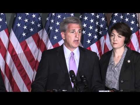 House Majority Whip Kevin McCarthy At House Republican Leadership Press Conference 9/13/11