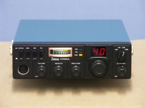 ZODIAC CONSUL, 40CH, AM-FM-SSB, CB-Radio picture-show