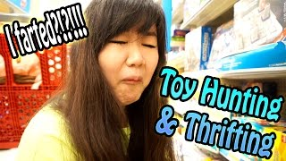 TOY HUNTING & THRIFTING - I FARTED in Target?!?!!! - New Toys, Funny Game, Blind Bags, Funko & MORE!