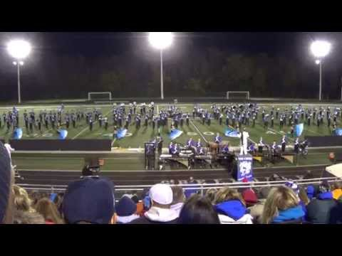 Oak Creek High School (Wisconsin) Marching Knights @ Greendale HS October 4, 2014
