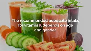 Vitamin K  Health benefits and major sources