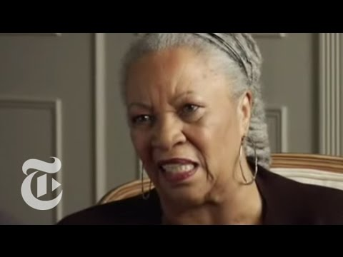 A Conversation With Toni Morrison - nytimes.com/video