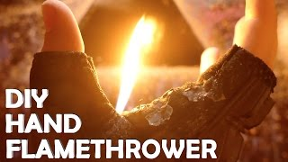Make a Wrist Flamethrower With Only a Lighter! - AMAZING DIY Lighter Hack!!!