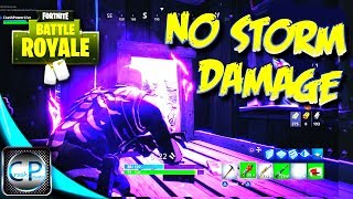 How to be IMMUNE TO STORM DAMAGE & More Fortnite Battle Royale Tips & Tricks