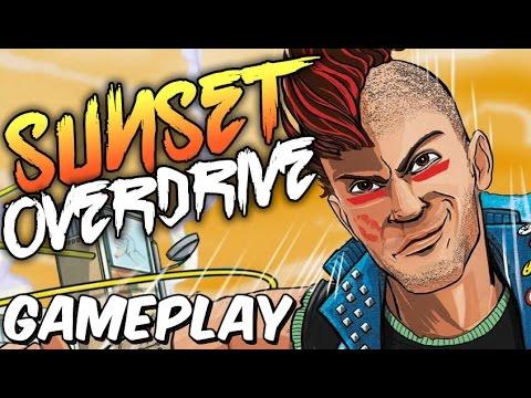 Sunset Overdrive - Gameplay - Jogo ANIMAL!!
