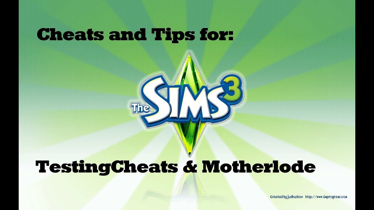 sims 4 how to get motherlode