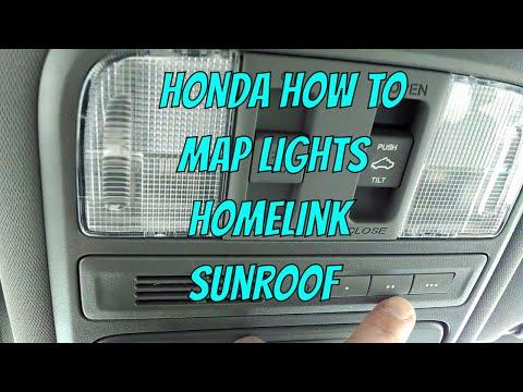 Honda Pilot - Map Lights/Sunroof/Homelink Review