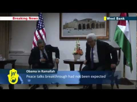 Obama meets Abbas: US President meets Palestinian leader Mahmoud Abbas