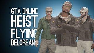 GTA Online Doomsday Heist Pt 3: FLYING DELOREANS! (Signal Intercepts)