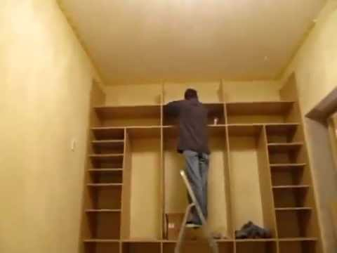 Маленький шкаф своими руками видео