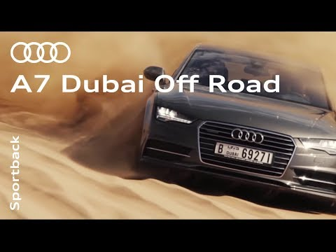 Audi A7: Taken off-road in Dubai