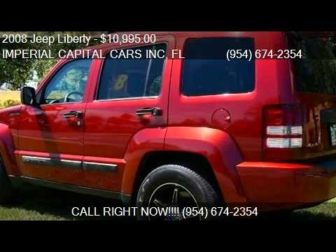 2008 Jeep Liberty Sport 4x4 SUV for sale in Hollywood, FL 33