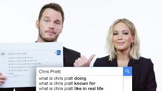 Jennifer Lawrence & Chris Pratt Answer the Web