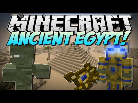 Minecraft   ANCIENT EGYPT! (Battle the Almighty Pharoah. Mummies & More!)   Mod Showcase [1.5.2]