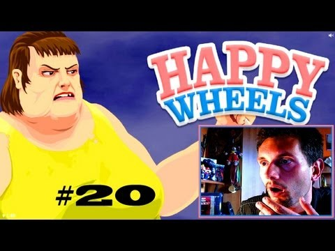 Happy Wheels #20 Rojo staje na głowie by było good (Roj-Playing Games!)