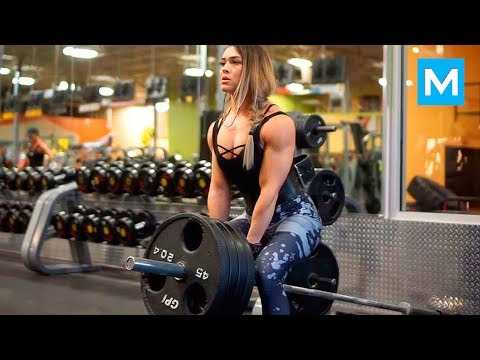 Strongest Barbie - Sexy Muscles - Cassandra Martin  Muscle Madness
