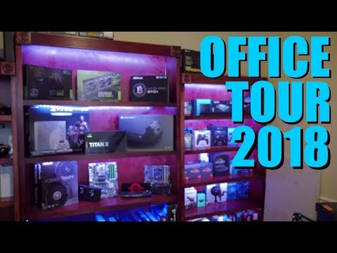 I Cleaned My Office Tour 2018