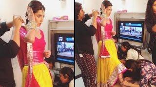 download lagu Mahira Khan Gets Ready To Shoot Udi Udi Jaye gratis
