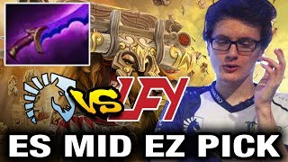 Miracle- Pick Earthshaker Mid In Pro Scene - Liquid vs LGD EPICENTER Dota 2