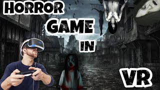 Best horror game in vr |horror game challange