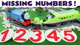 Thomas & Friends Missing Play Doh Numbers Toy Train Story with funny Funlings and Tom Moss TT4U