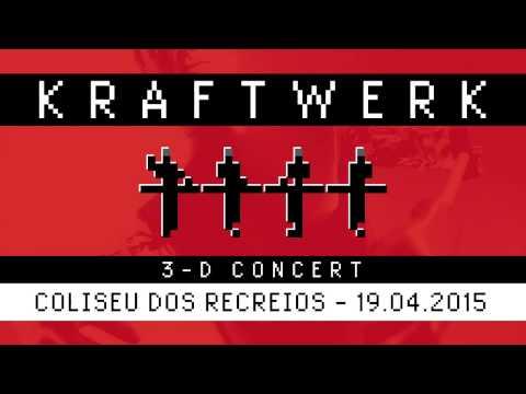 Kraftwerk - 3-D Concert - Coliseu dos Recreios, Lisboa, 2015-04-19