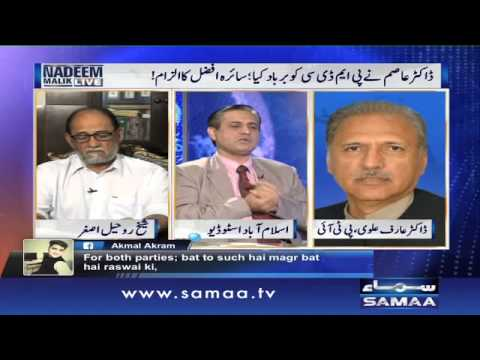 Karachi Operation ka Nishana Teer pe - Nadeem Malik Live, 31 August 2015