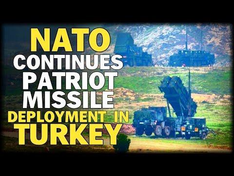 NATO CONTINUES DEPLOYMENT OF PATRIOT MISSILES IN TURKEY