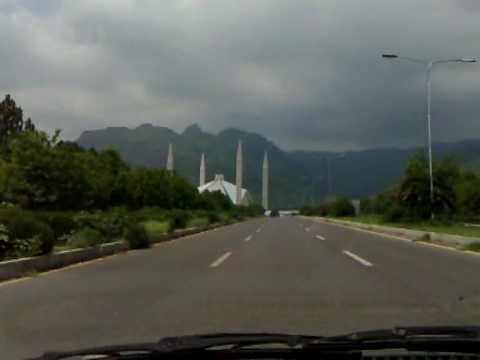 Driving Around Islamabad