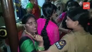 చార్మినార్ వద్ద బతుకమ్మ.. బీజేపీ మహిళా నేతల అరెస్ట్ | BJP | Bathukamma Songs | Charminar
