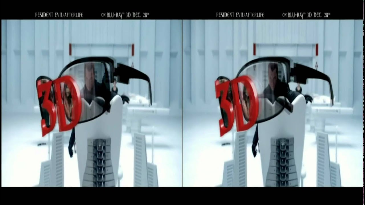 Resident Evil Afterlife 3d Blu-Ray Commercial in 3d - YouTube Q Ray Commercial