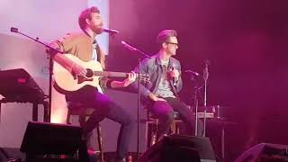 Rhett and Link: A song for when you want to say I love you but you cant at VidCon London 2019