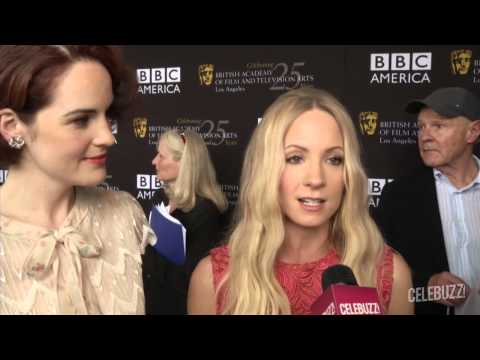 Downton Abby stars Michelle Dockery and Joanne Froggatt on the English Period Drama's New Season