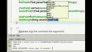 ComboBox for Java using NetBeans. Part 4 of 5