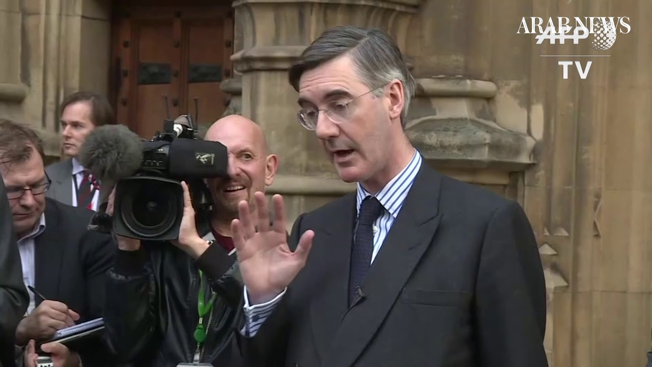 "Pro-Brexit MP Jacob Rees-Mogg submits letter of ""no confidence"" in UK PM"